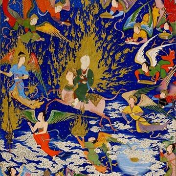 Muhamed, pionir astralne projekcije